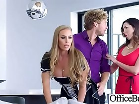 (Nicole Aniston) Hot Office Girl With Big Tits Love Hardcore Sex movie-20