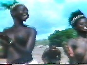 topless african dance