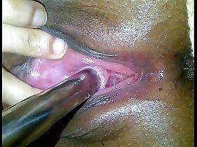 Peehole Fucking with big dildo