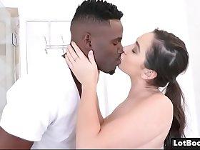 Big ass busty PAWG Karlee Grey gets interracial fucking