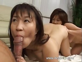 FFM chinese threesome from Tokyo