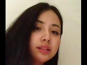 Chinese model selfie