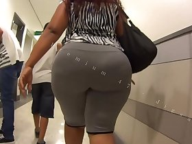 Candid Big Booty Bubble Butt Culo Brazil Thick Curvy Pawg BBW Ass Premium 47m