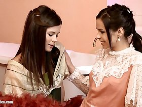Cunnilingus Climaxers by Sapphic Erotica - sensual lesbian sex scene with Capric
