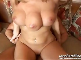 * Girl with 3 boobs amazing boobs  - Triceratits